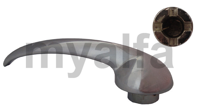 The inner door handle (750/101) 2nd Series for 750/101, Body parts, Chrome Parts, Door