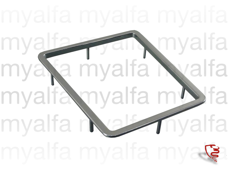 Chrome frame of the center console in 1750 for 105/115, Coupe, Interior, Centre console, Trim / knobs / comands