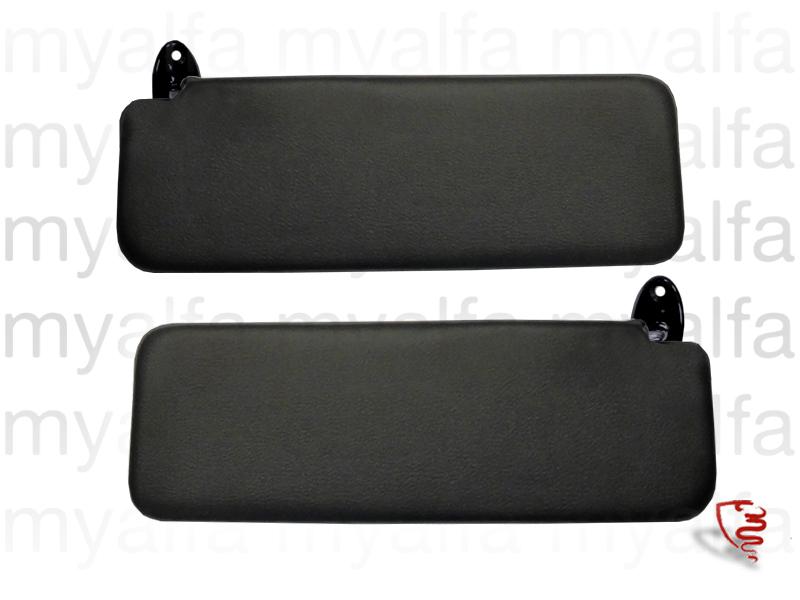 Set sun visors GT for 105/115, Coupe, Headliner/sun visor/hat rest