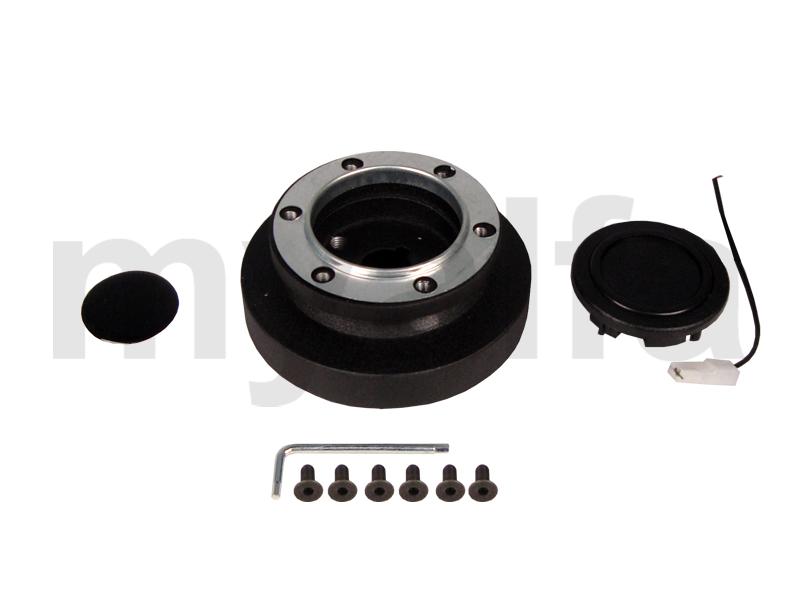 Cube w / steering wheel Giulietta Sprint / Spider (750/101) for 750/101, Interior, Steering wheels, Steering hubs