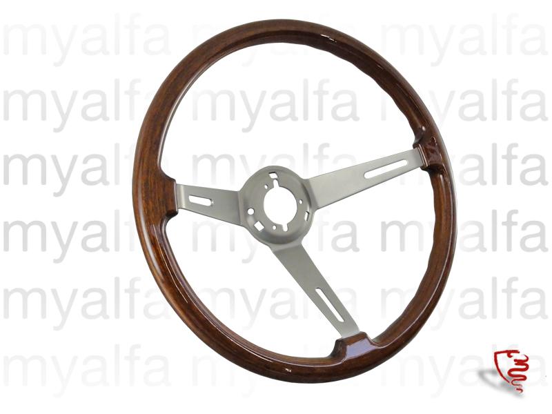 Wooden Steering Wheel 'Hellebore' 380mm for 105/115, Interior, Steering wheels, Wood Original/Gta