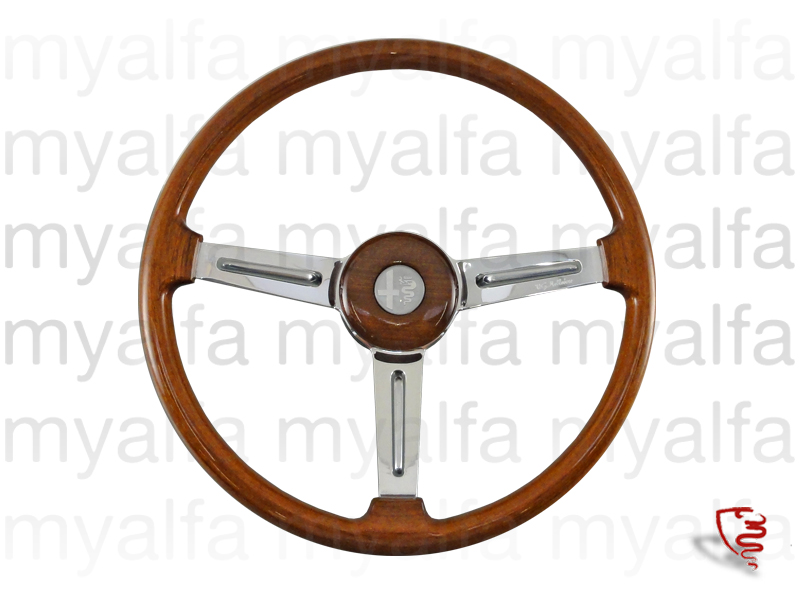 steering wheel in wood original shallow for 105/115, Interior, Steering wheels, Wood Original/Gta