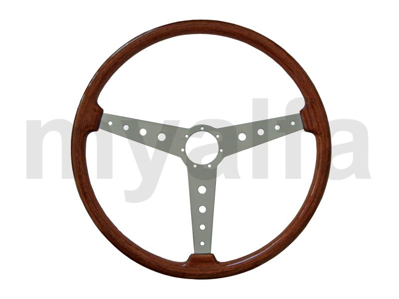 steering wheel in wood 385mm GTA style for 105/115, Interior, Steering wheels, Wood Original/Gta