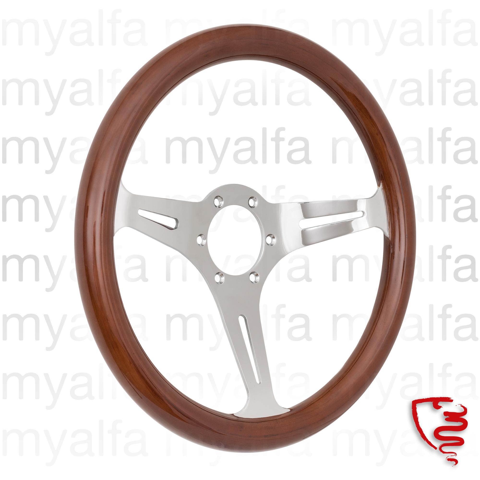steering wheel in wood 330mm for 105/115, Interior, Steering wheels, Wood