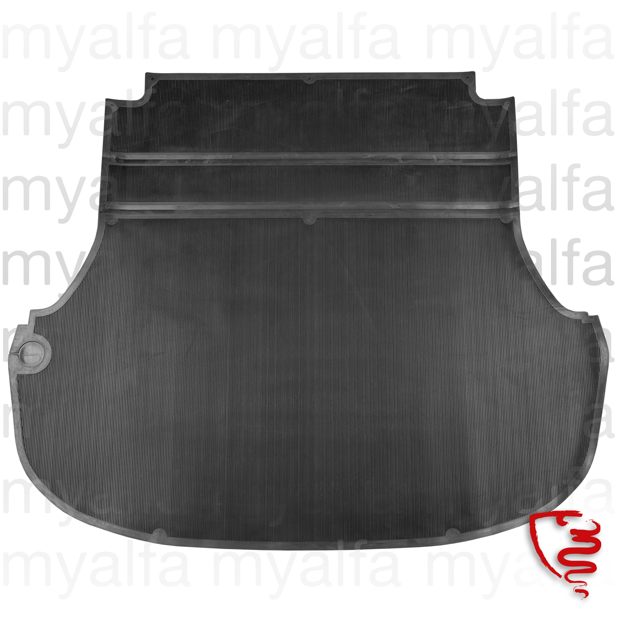 rubber mat Spider 1966-69 chafer suitcase for 105/115, Spider, Interior, Flooring, Rubber mats