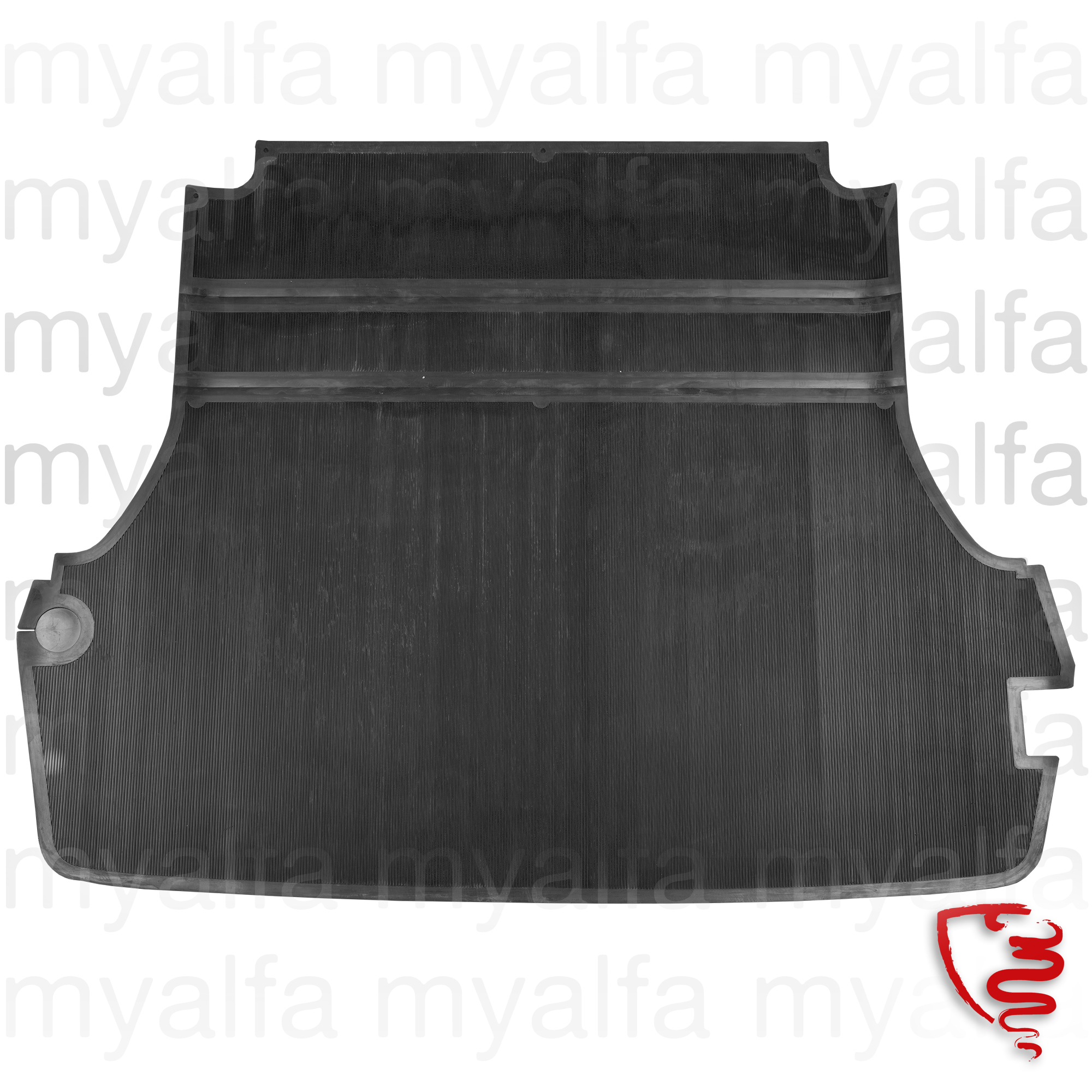 rubber mat of malado Spider for 105/115, Spider, Interior, Flooring, Rubber mats