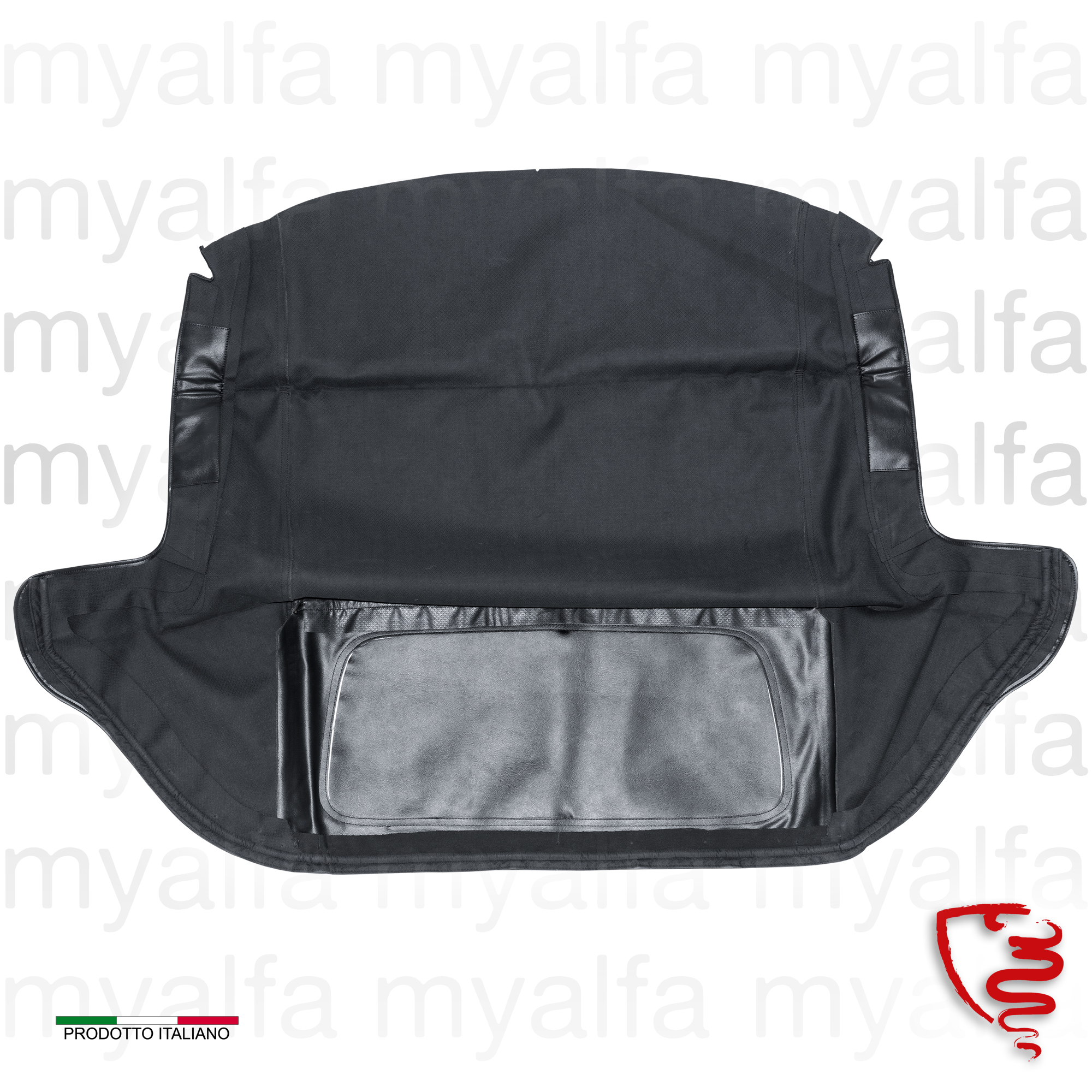 Cowling spider 101 - Black for 750/101, Spider, Body parts, Top Covers, Convertible top