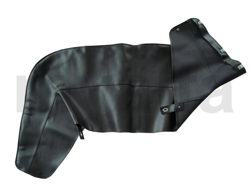 Bonnet cover tonneau spider 70-77 - Vinyl Black for 105/115, Spider, Body parts, Top Covers, Convertible top