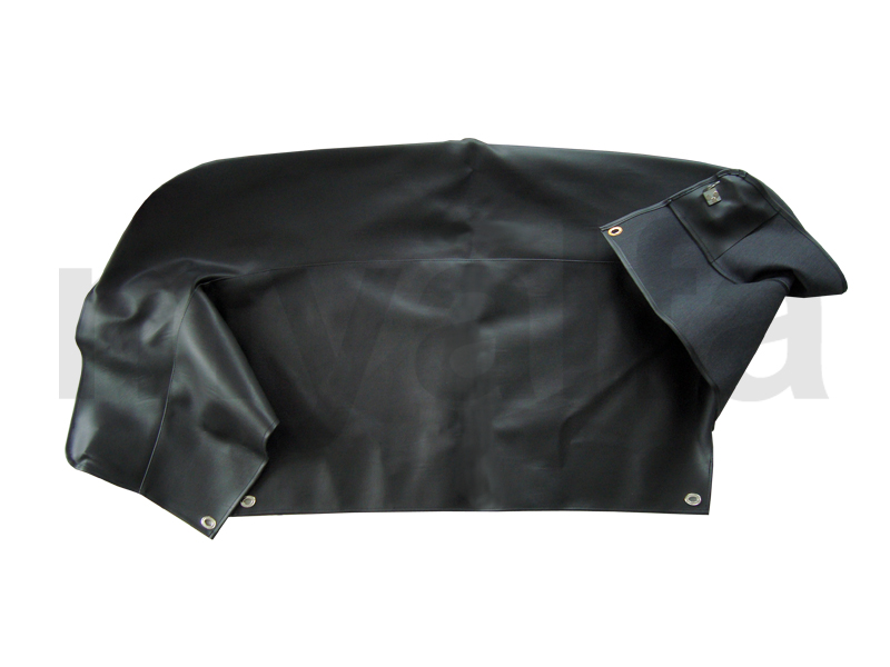 Bag w / black Hood Spider1966-69 for 105/115, Spider, Body parts, Top Covers, Convertible top