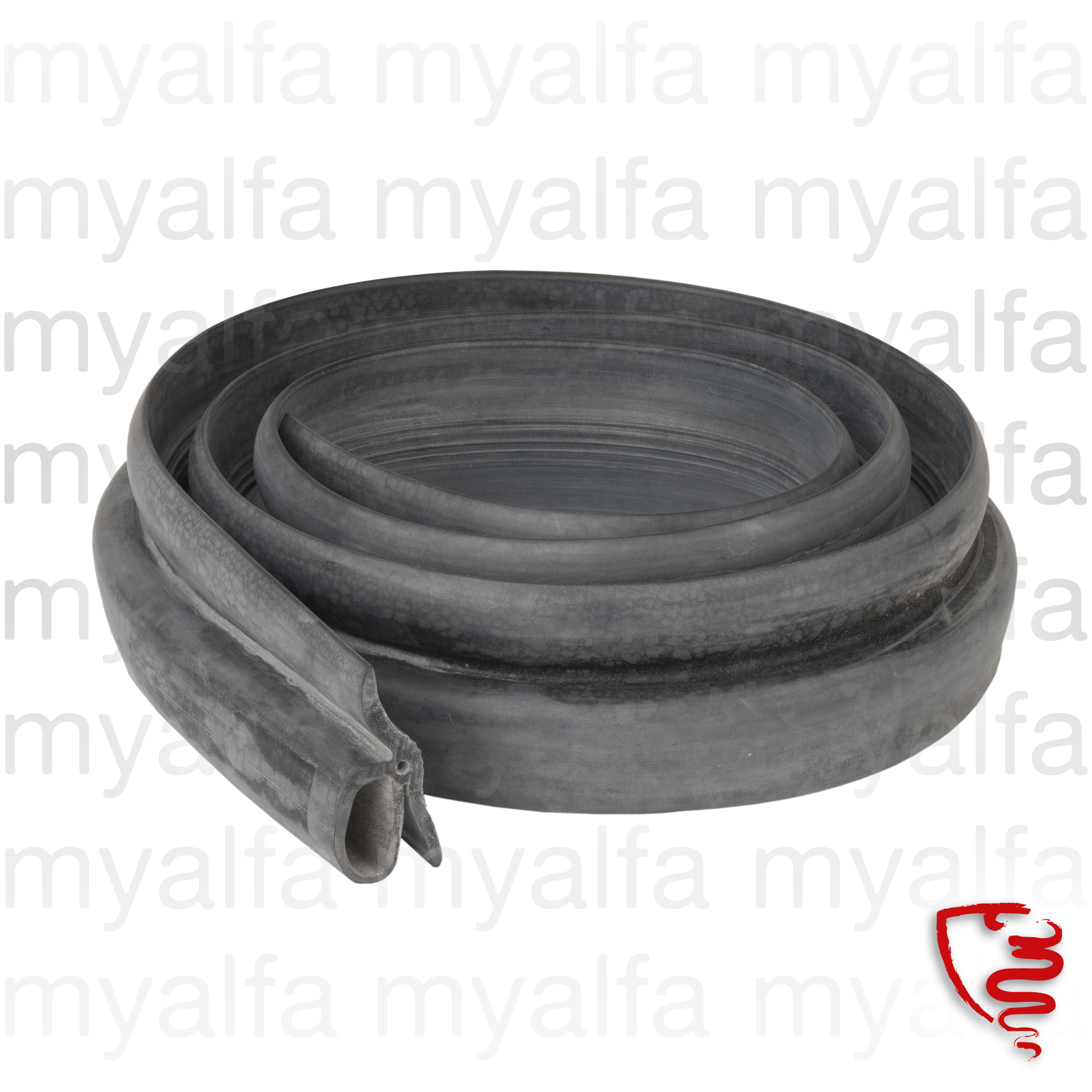Rubber seal front c / bonnet Spider for 105/115, Spider, Body parts, Top Covers, Mounting Parts