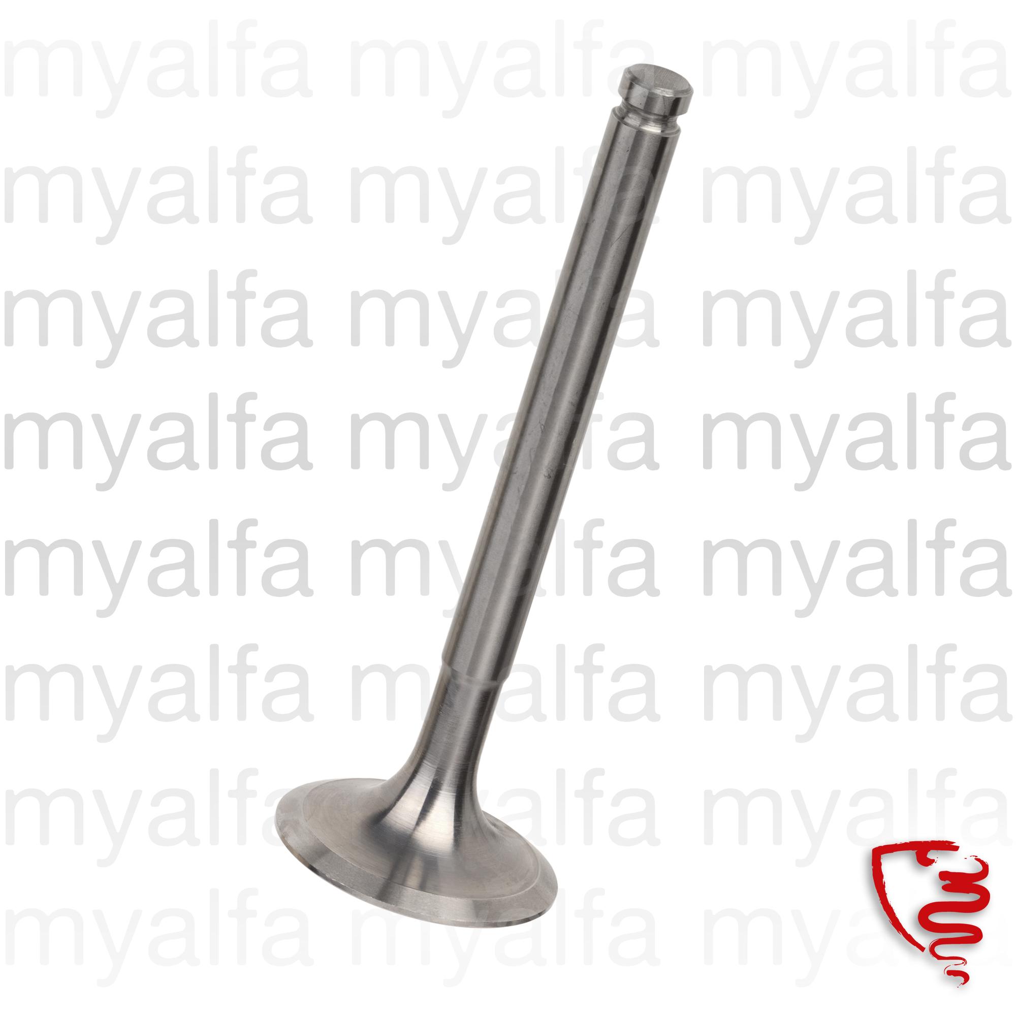 Intake valve 1300 std 37mm for 105/115, Engine, Cylinder head, Valves