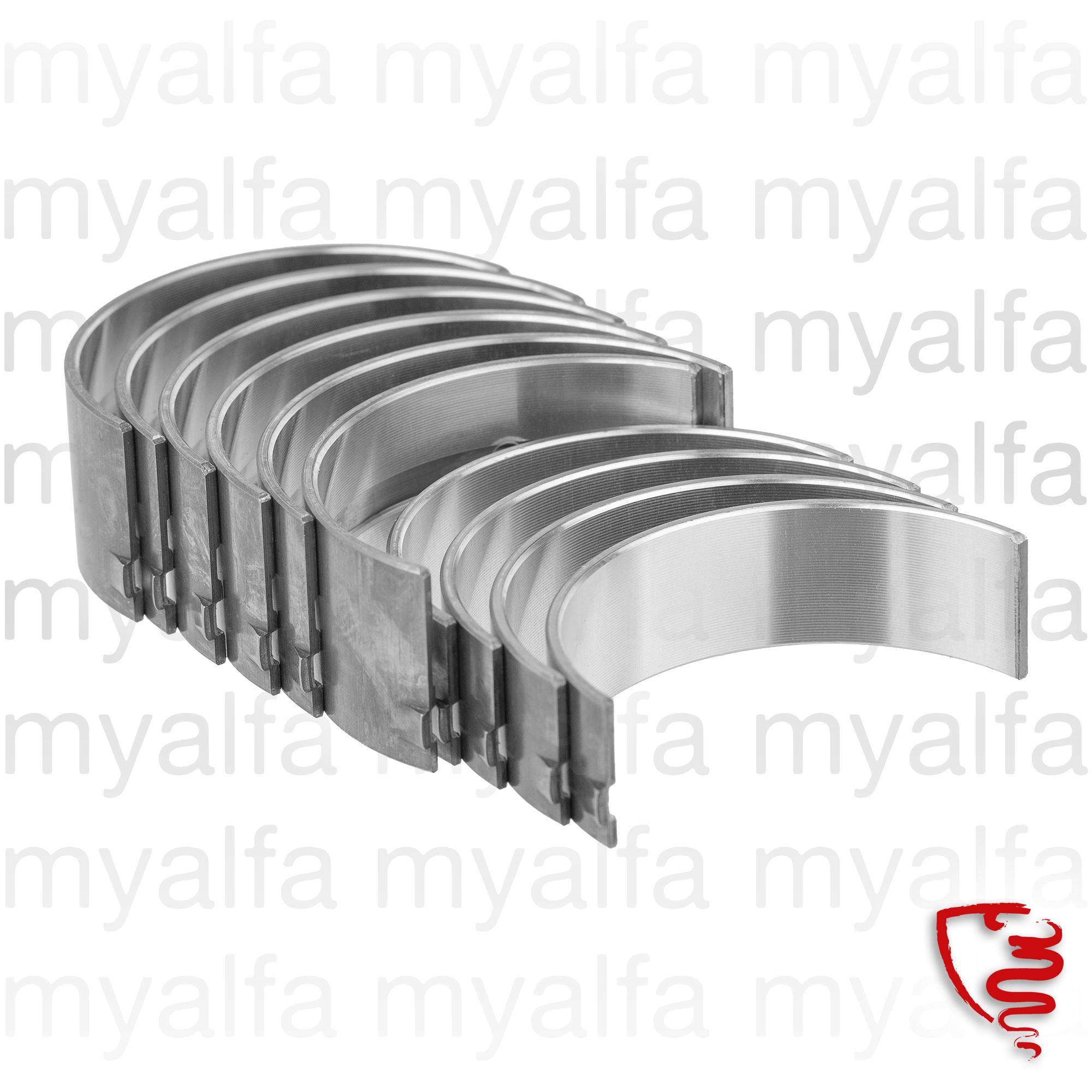 Game bronzes crankshaft 750 STD 010 for 750/101, Engine, Engine Block, Crankshaft/Bearing