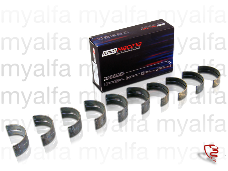 bronzes game crankshaft 1300-2000 STD Racing for 105/115, Engine, Engine Block, Crankshaft/Bearing
