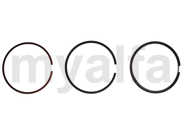 Set of piston rings in 2000 1.5 / 1.75 / 4.0mm (1 piston) for 105/115, Engine, Engine Block, Piston/liner