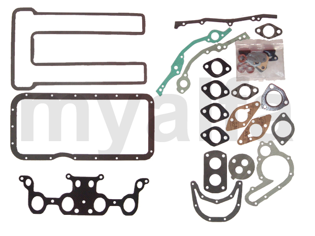 Set of gaskets (750) 1300 Sprint / Spider without head gasket for 750/101, Engine, Engine Gaskets, Complete Gasket Sets