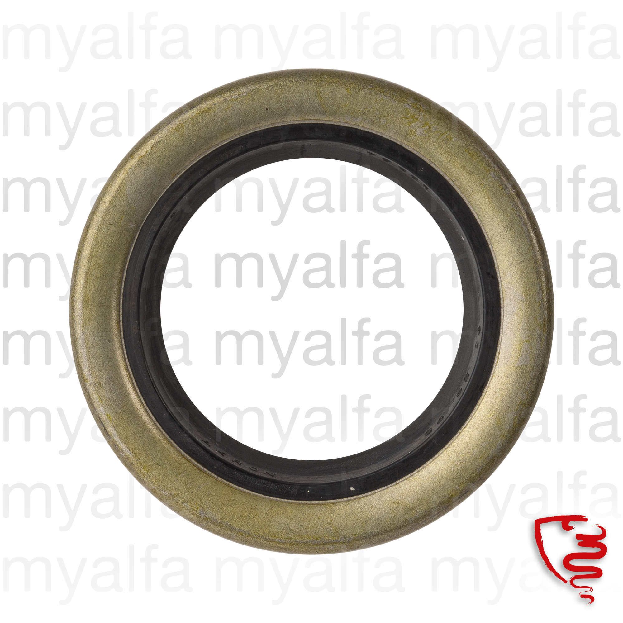 Shaft seal behind 2nd series 72-93 52/34/10 for 105/115, Differential, Bearings+fittings