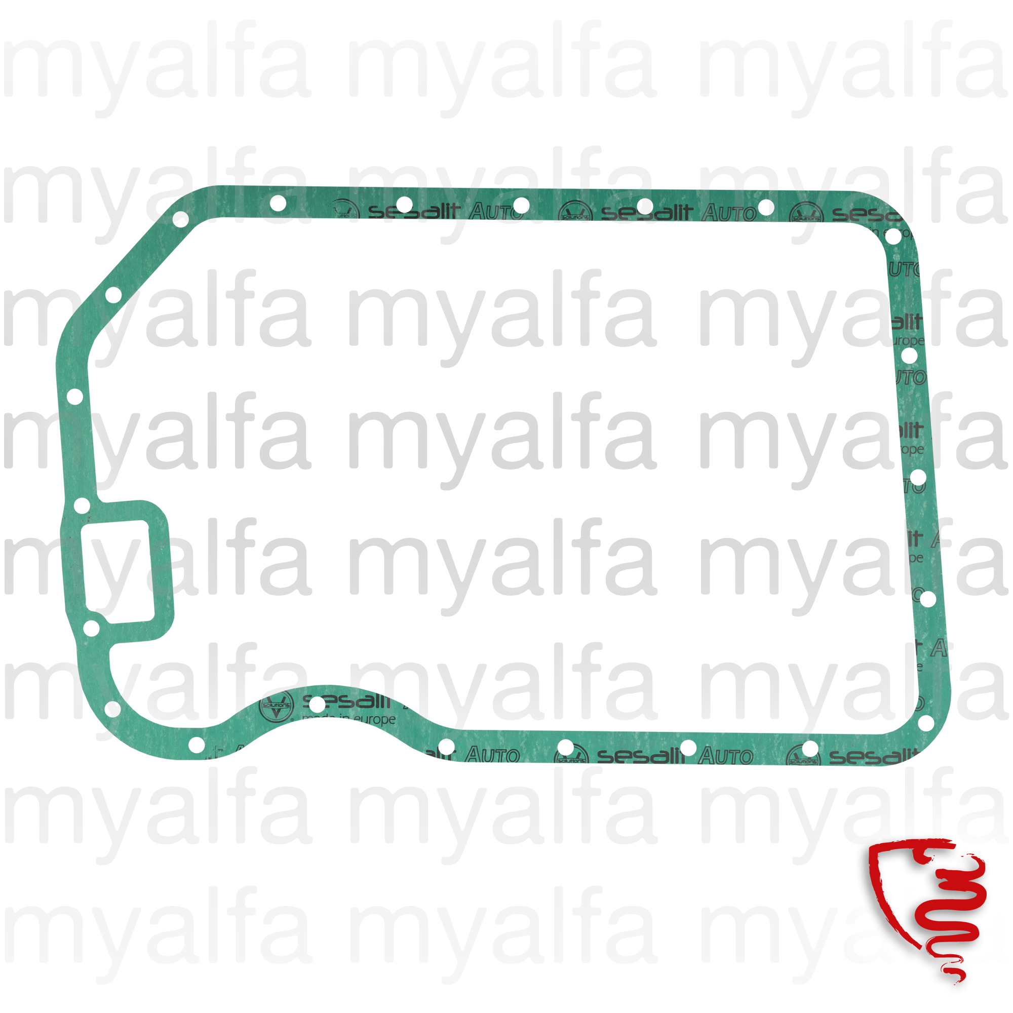 Joint carter cover for 1600 (101) SS, SZ, VELOCE for 750/101, Engine, Engine Gaskets, Oil Pan Gaskets