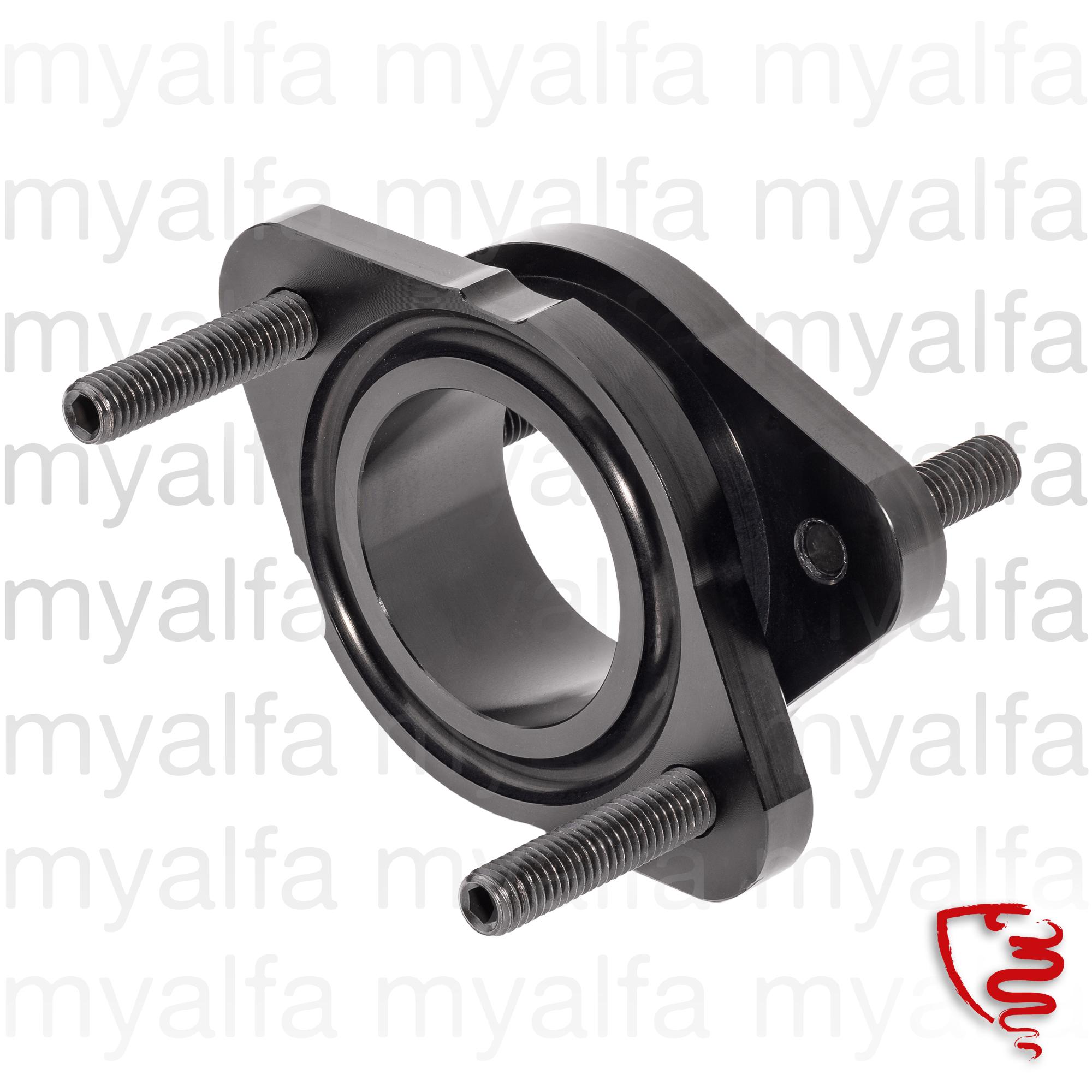 Set carburetor flange aluminum 40MM for 105/115, Fuel system, Carburettors and Parts, Flange & Carburettor mounts 40mm