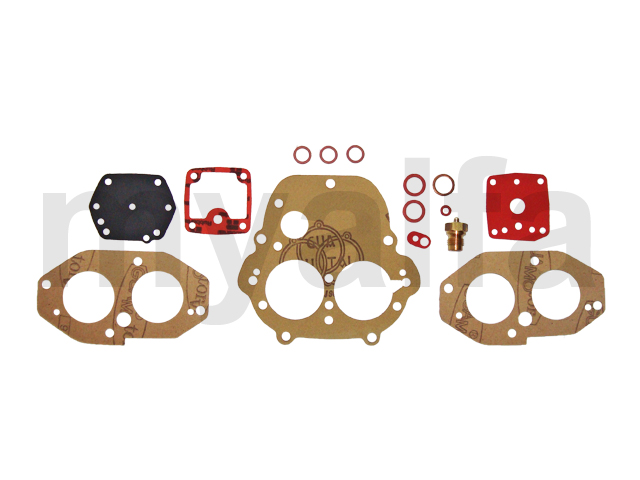 Kit Solex carburetors restoration APAI-G for 105/115, Fuel system, Solex Carburettors, Service kits & Gaskets sets