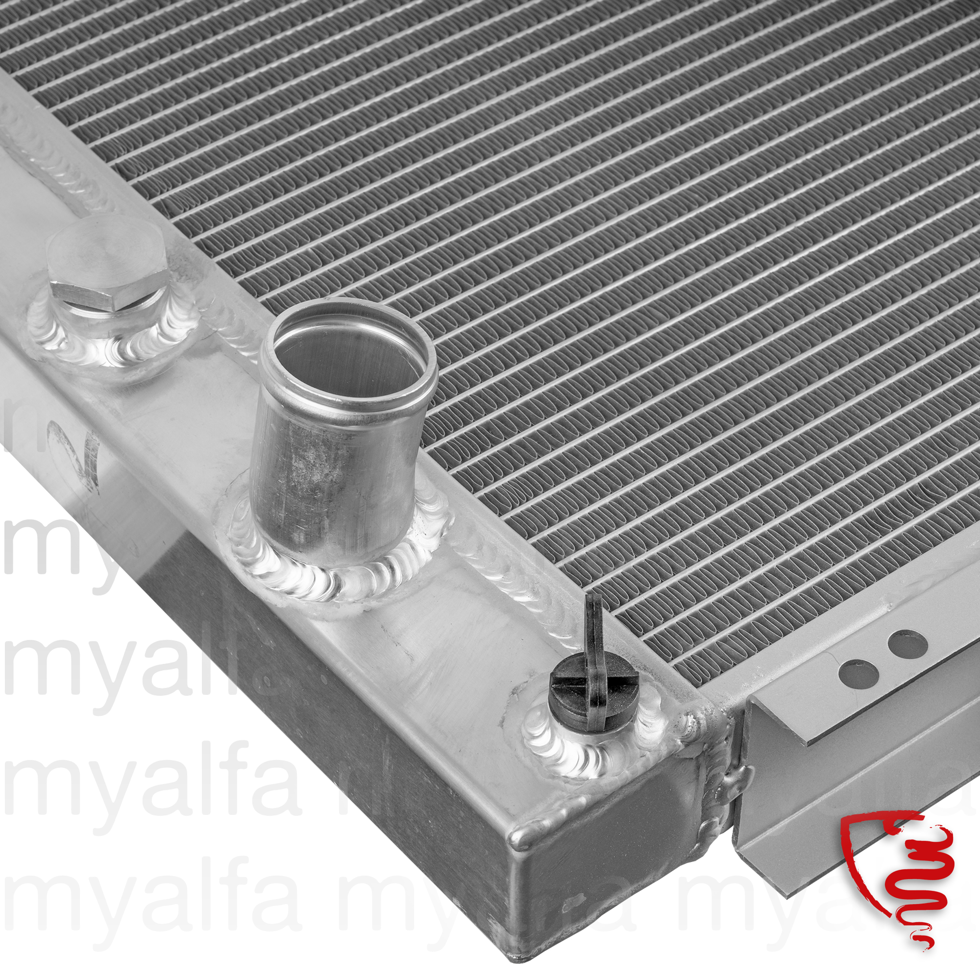 Radiator GTV6 OE. 60732307 for 116/119, Alfetta GTV6, Cooling System, Radiator