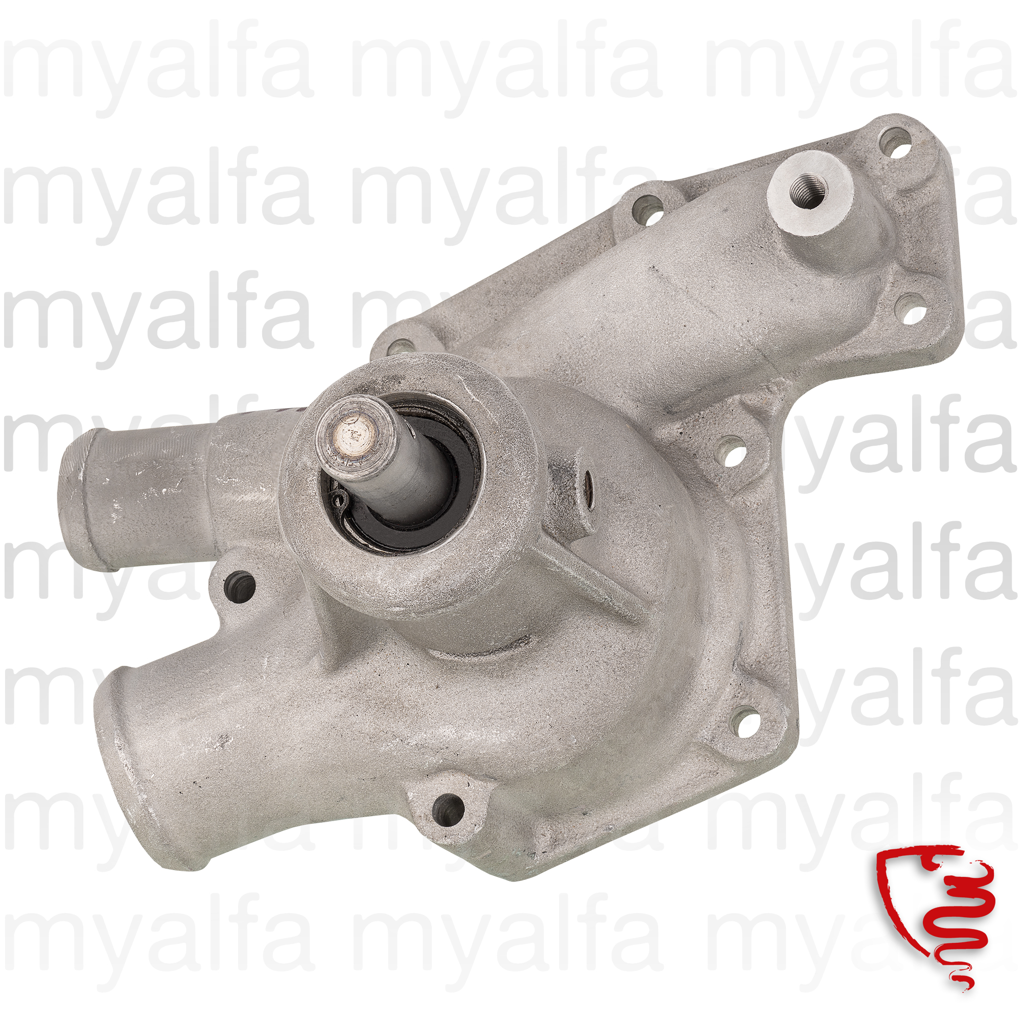Water pump type 2000 102 for 102/106, 2000 Sprint, 2000 Spider Touring, 2000 Berlina, Cooling System, Waterpumps