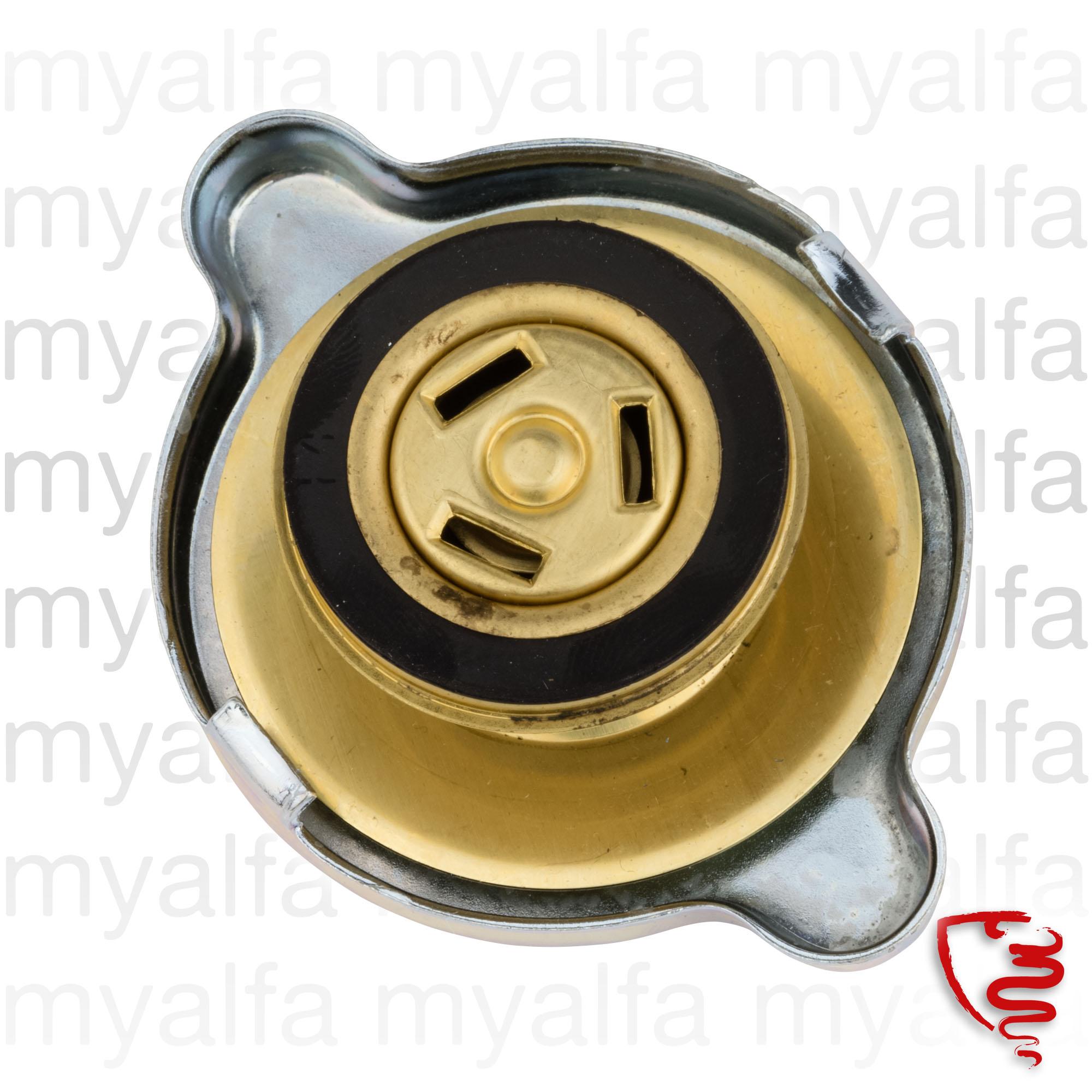 round radiator cap for 105/115, Cooling System, Radiator