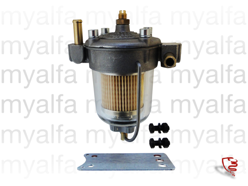 King throttle with petrol filter for 105/115, Filters, Fuel filters