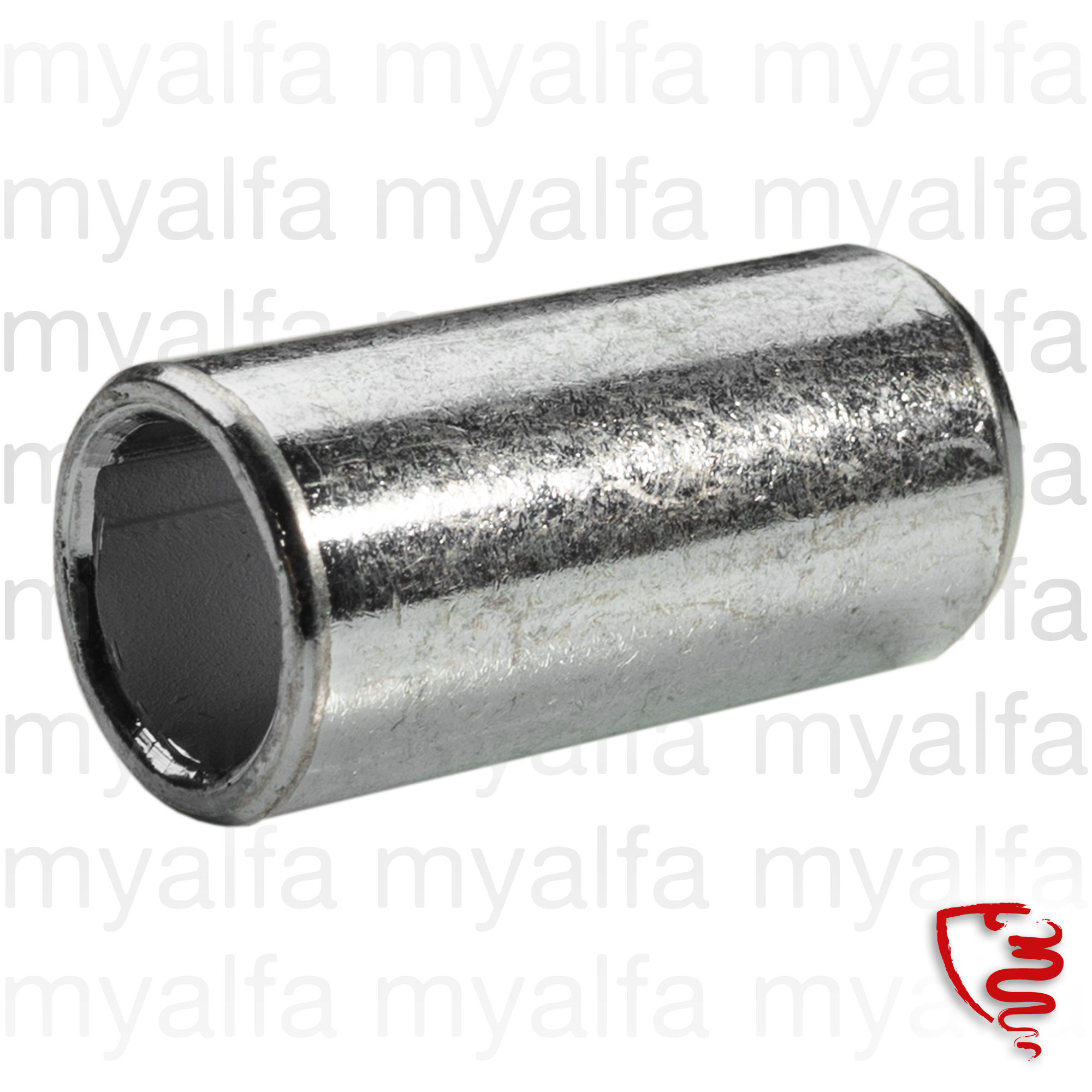 Fitting for exhaust support rubber for 105/115, Exhaust System, Attachment Parts