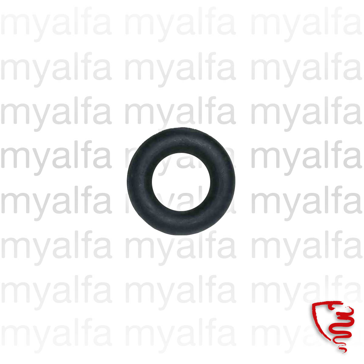 Rubber ring to escape for 116/119, Exhaust System, Attachment Parts