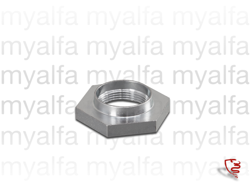 Nut w / clamping fork shaft to the transmission housing for 105/115, Gearbox, Main Shaft/Synchro Rings/Bearings