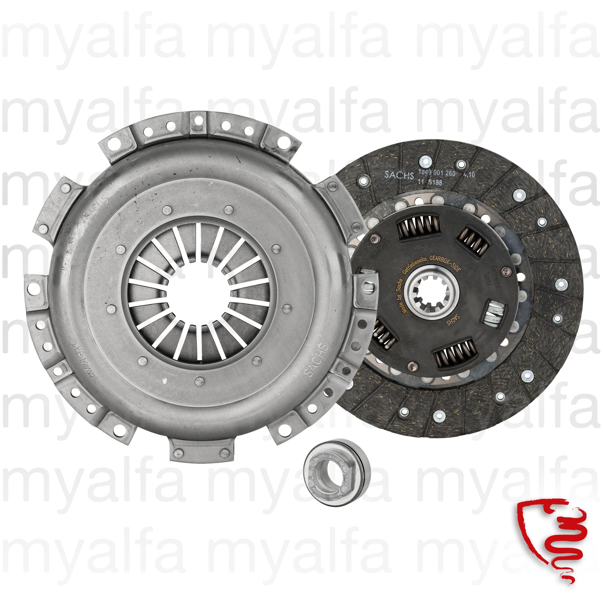 SACHS clutch kit for 116/119, Alfetta GTV6, 162, 75, Clutch, Hydraulic