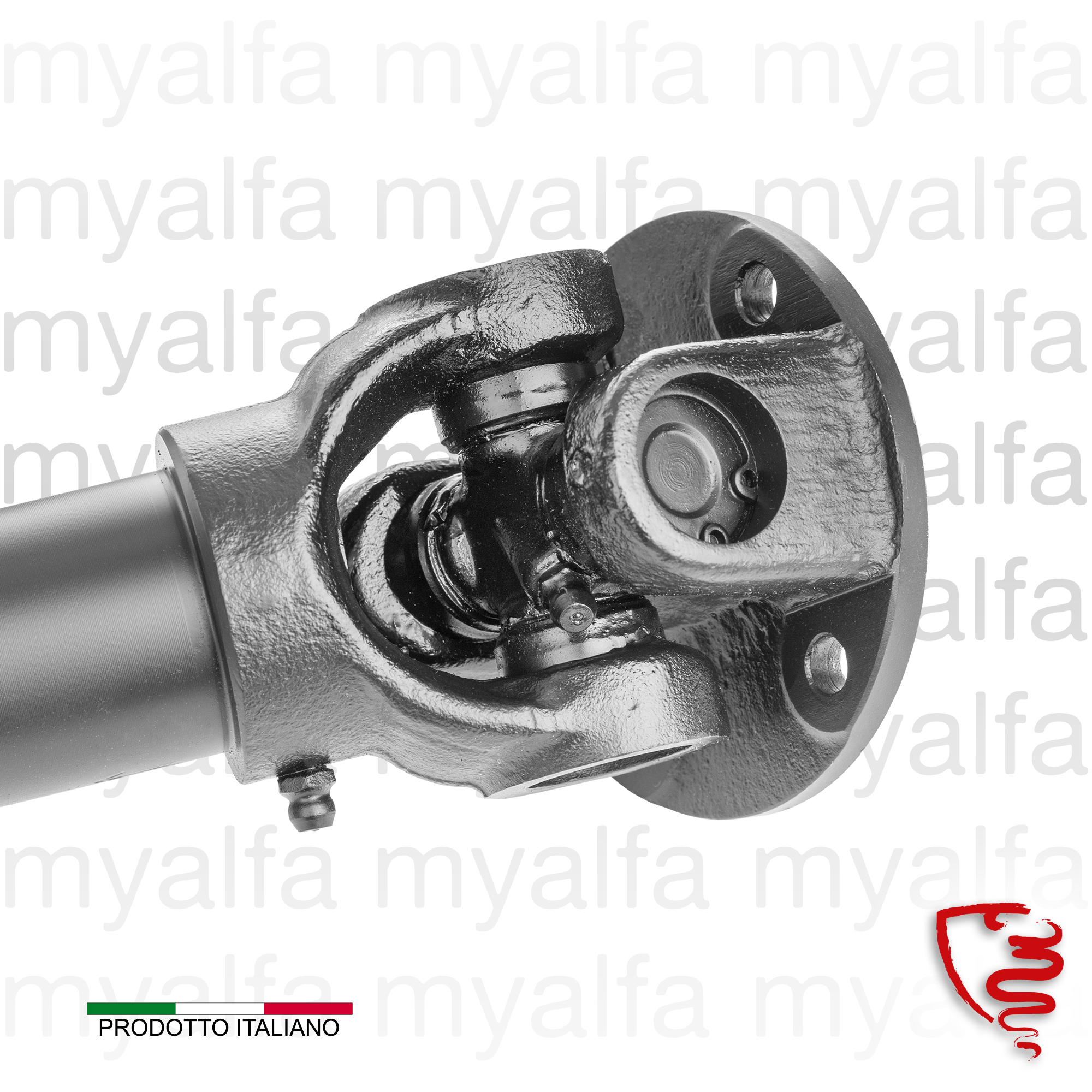 Shaft Spider / Junior Zagato - Section back for 105/115, Coupe, Junior, Spider, Drive train, Propshaft