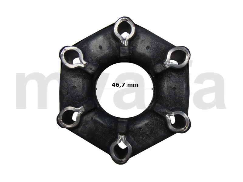 Gimbal through the shaft - 116 4-CYL. for 116/119, Drive train, Mounting Parts