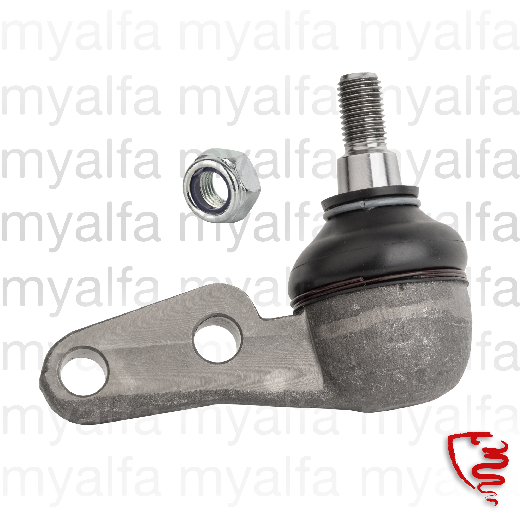 Ball joints of the lower suspension triangle for 105/115, Chassis Mount, Front Suspension, Arms/Bushings
