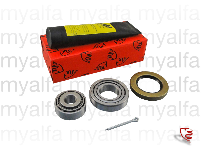 Front wheel bearing kit for 105/115, Chassis Mount, Front Suspension, Hub/Bearing/Studs