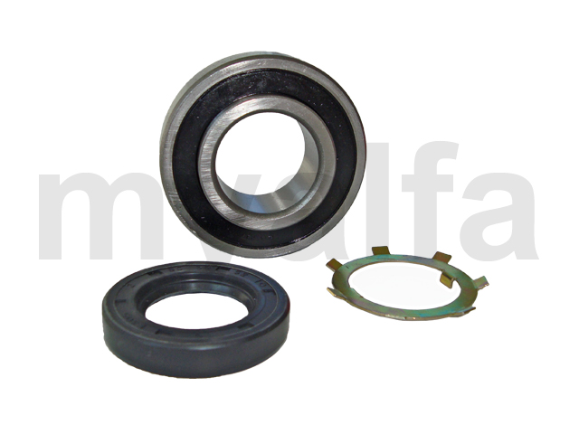 Kit lock washer bearing and seal differential 64-72 for 105/115, Differential, Bearings+fittings