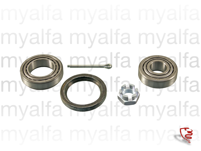 Wheel bearing kit front GTV6 for 750/101, Chassis Mount, Front Suspension, Hub/Bearing/Studs