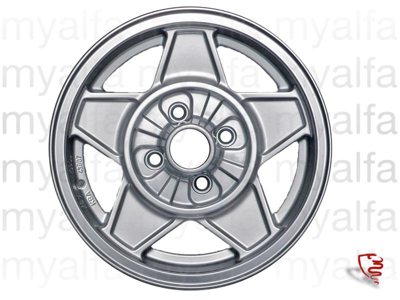 Dine Cromodora - 6x14 ET 24 for 105/115, Chassis Mount, Wheels, Rims Sport/Aluminium