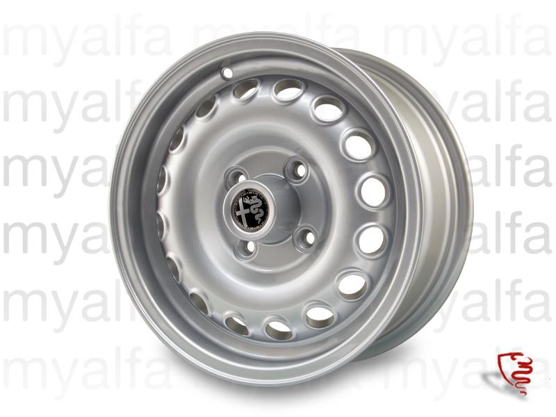 GTA wheel (aluminum replica) - 6x14 'ET 30 for 105/115, Chassis Mount, Wheels, Rims Sport/Aluminium