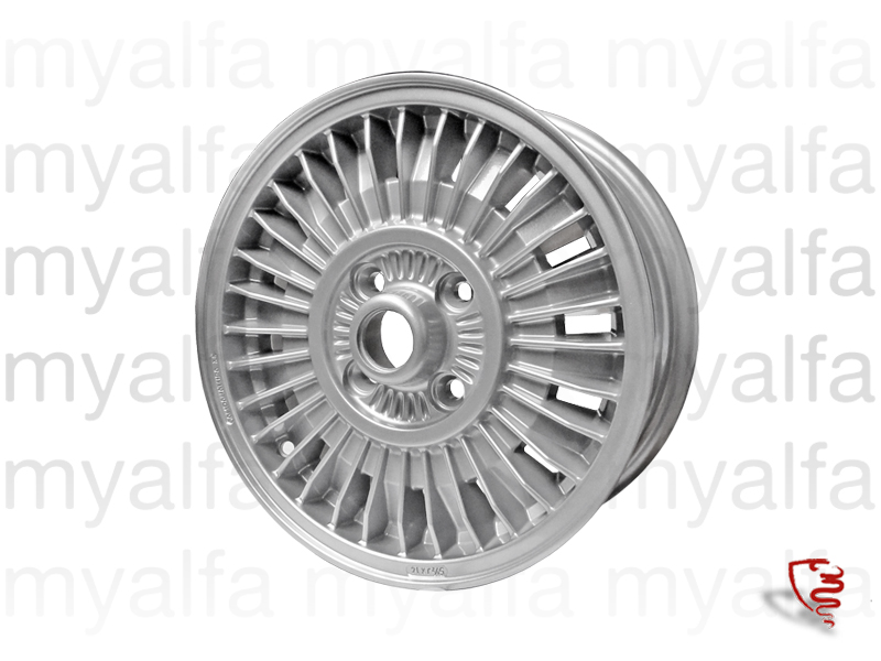 Aluminum wheel 'MILLE RHIGE' 5.5X14 for 105/115, Chassis Mount, Wheels, Rims Sport/Aluminium