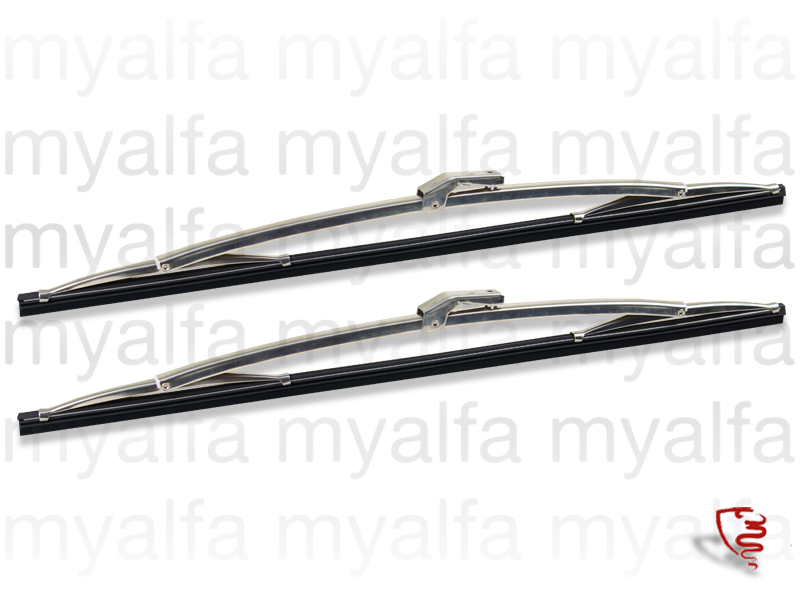 Pair of wipers brushes - Montreal for 105/115, Montreal, Windshield wipers, Motor, linkage, arms, blades