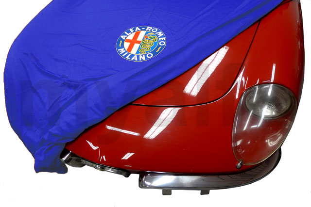 Cover cover p / Spider w / Logo and AR p bag / save-Blue for 105/115, Accessories, Car Covers