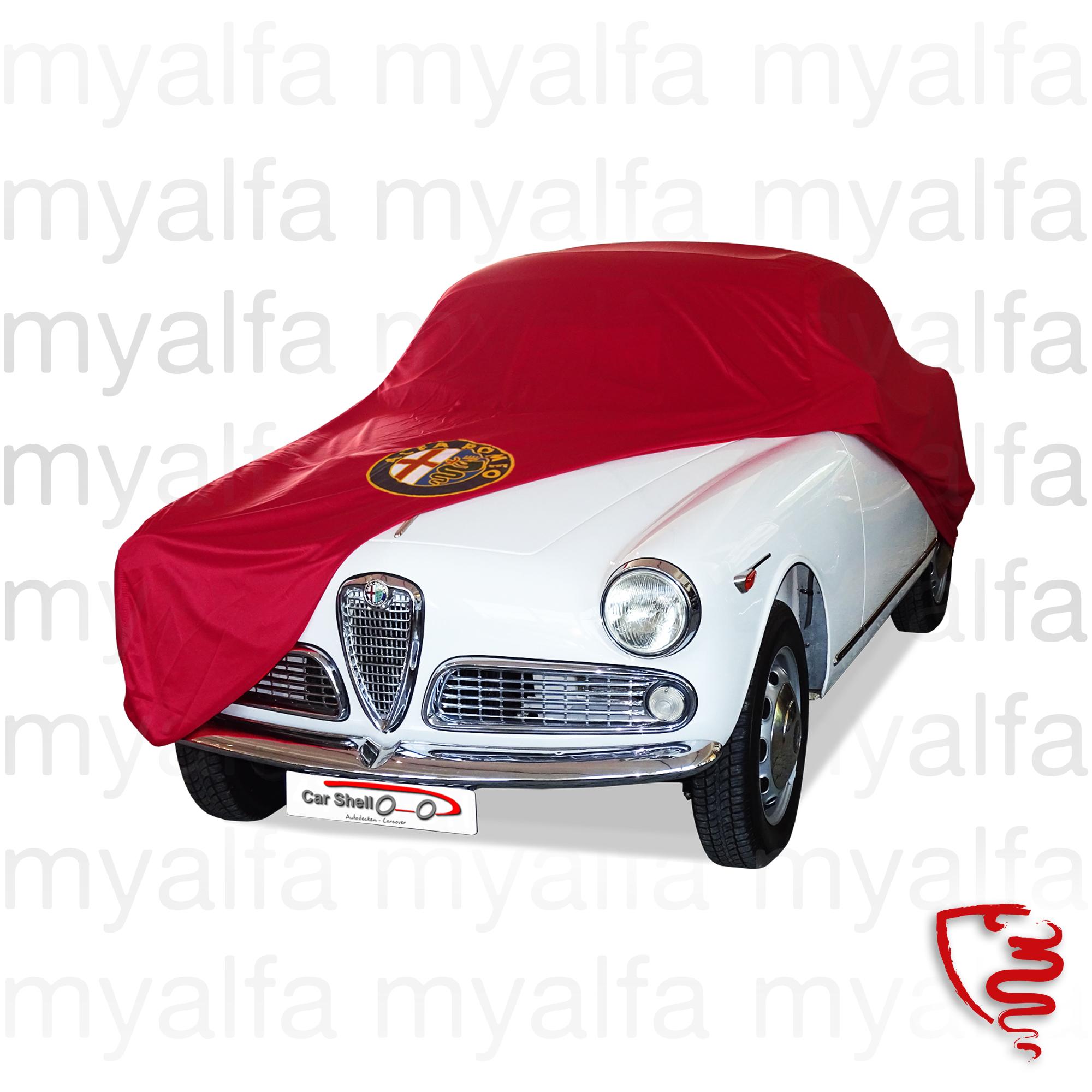Cover Giulietta cover / Giulia Sprint w / emblem for 105/115, Accessories, Car Covers