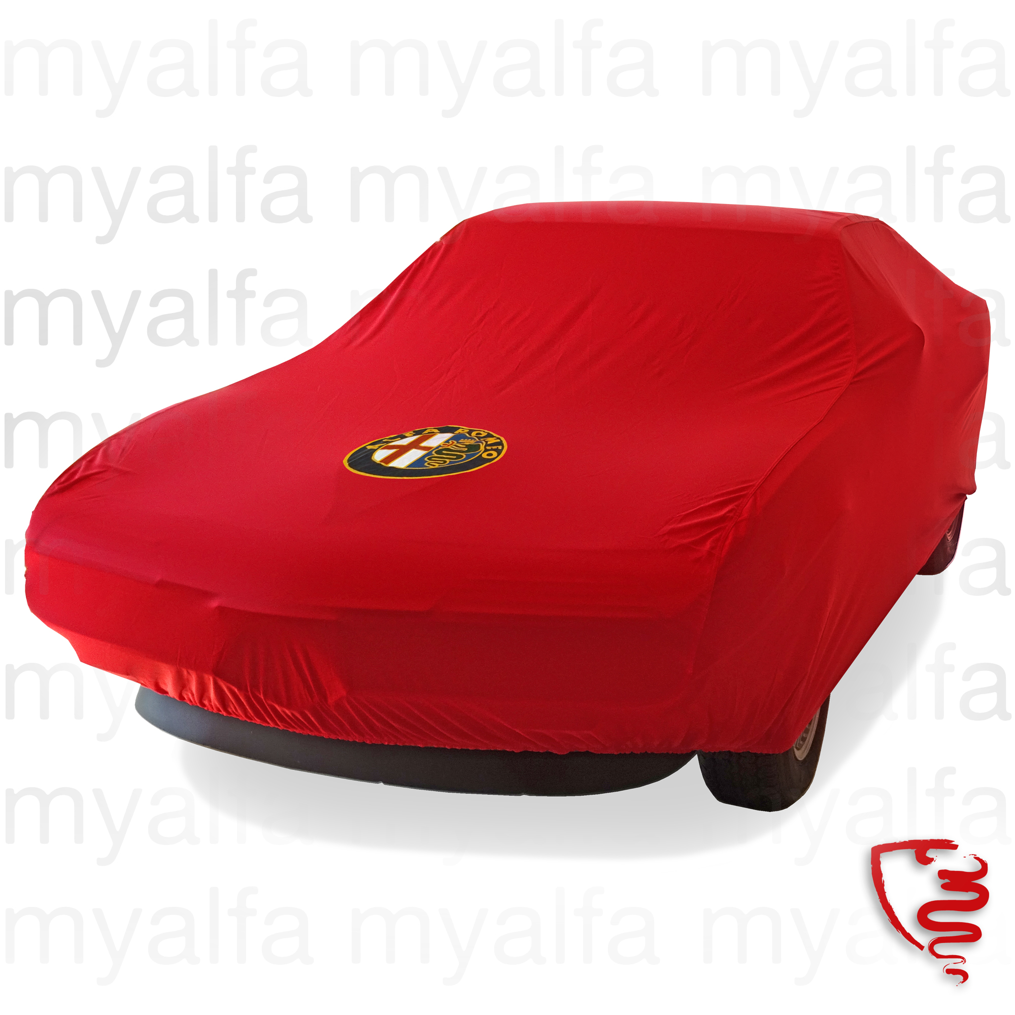 Cover cover p / Gt Montreal c / Logo AR and Red bag for 105/115, Accessories, Car Covers