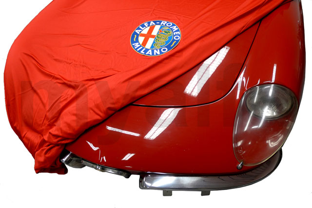 cover cover with badge and bag Spider 1970-93 for 105/115, Accessories, Car Covers