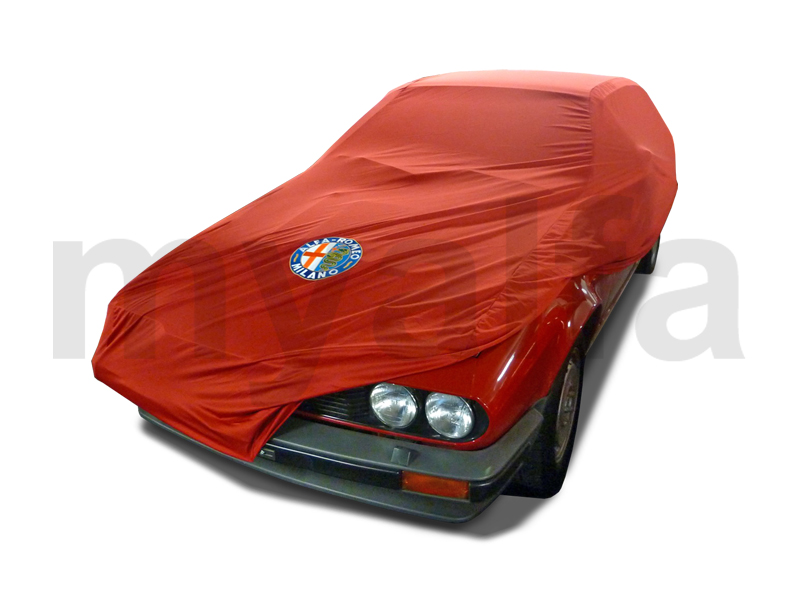 Cover Alfetta GT cover / GTV / GTV 6 Red for 105/115, Accessories, Car Covers