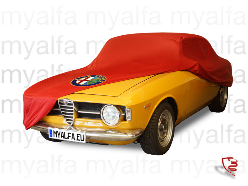 Cover cover p / Gt Bertone c / Logo AR and Red bag for 105/115, Accessories, Car Covers