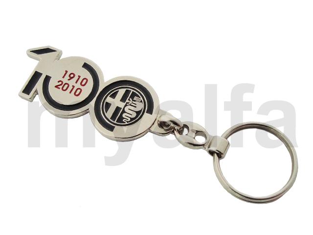 Keys door - cent anni for Alfa Romeo, Accessories, Key rings