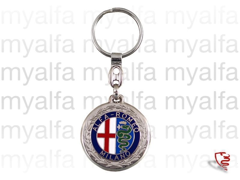 Keys door - Emblem Milano for Alfa Romeo, Accessories, Key rings