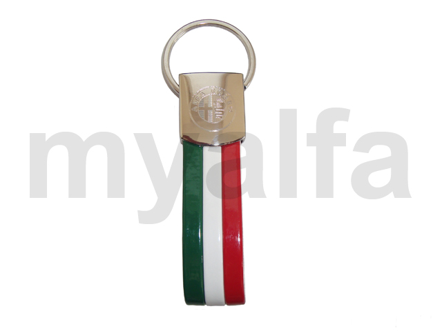 Keychains Tricolore for Alfa Romeo, Accessories, Key rings